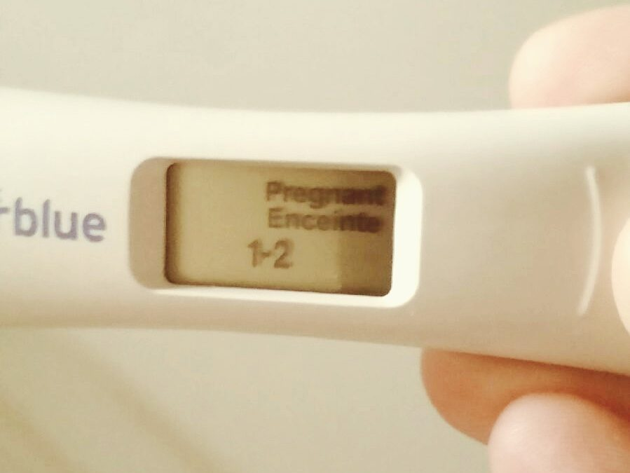 The Fear (and Joy) of Seeing a Positive Pregnancy Test